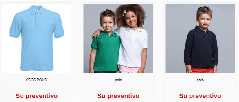 Divisa scuola - polo